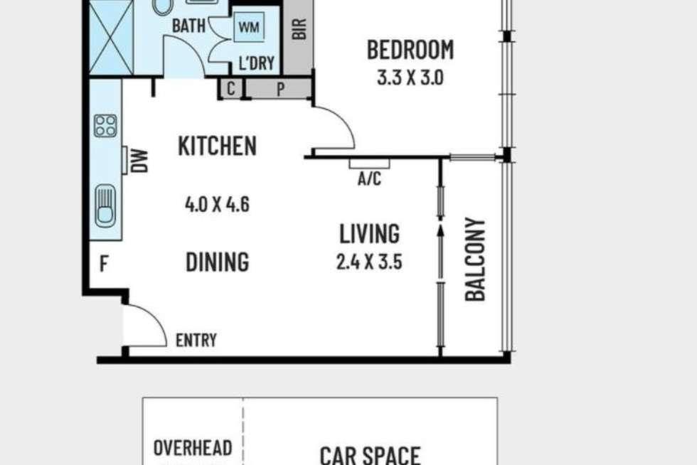Floorplan of Homely apartment listing, 312/10 Burnley Street, Richmond VIC 3121