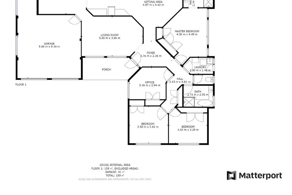 Floorplan of Homely house listing, 9 Royal Palm Drive, Sawtell NSW 2452