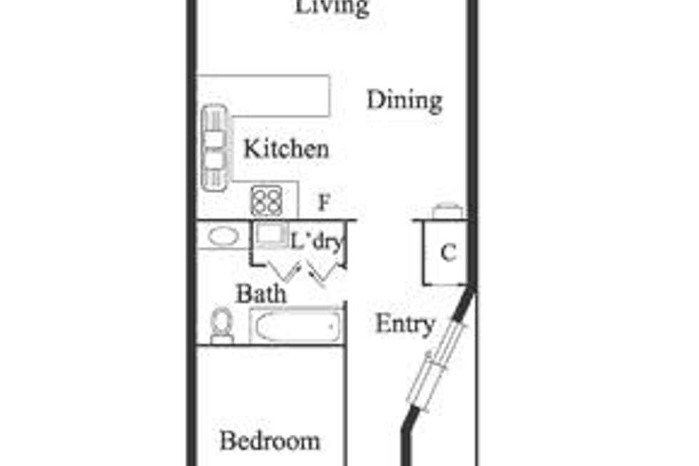 Floorplan of Homely house listing, 90 Bunting Street, Richmond VIC 3121