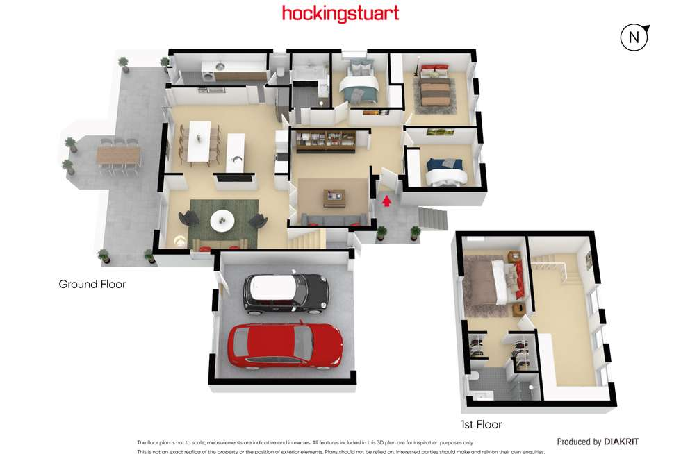 Floorplan of Homely house listing, 73 Dunsterville Crescent, Frankston VIC 3199