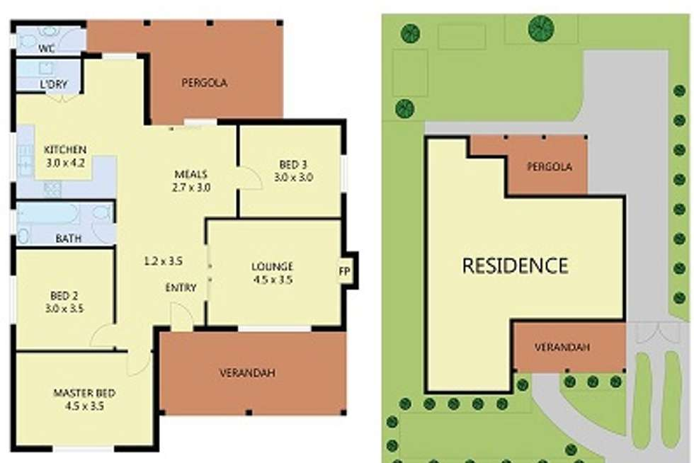Floorplan of Homely house listing, 79 Devonshire Street, West Footscray VIC 3012