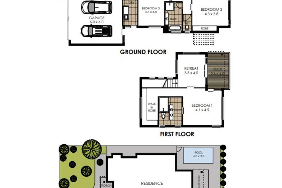 Floorplan of Homely house listing, 10 Feathertail Place, Peregian Springs QLD 4573