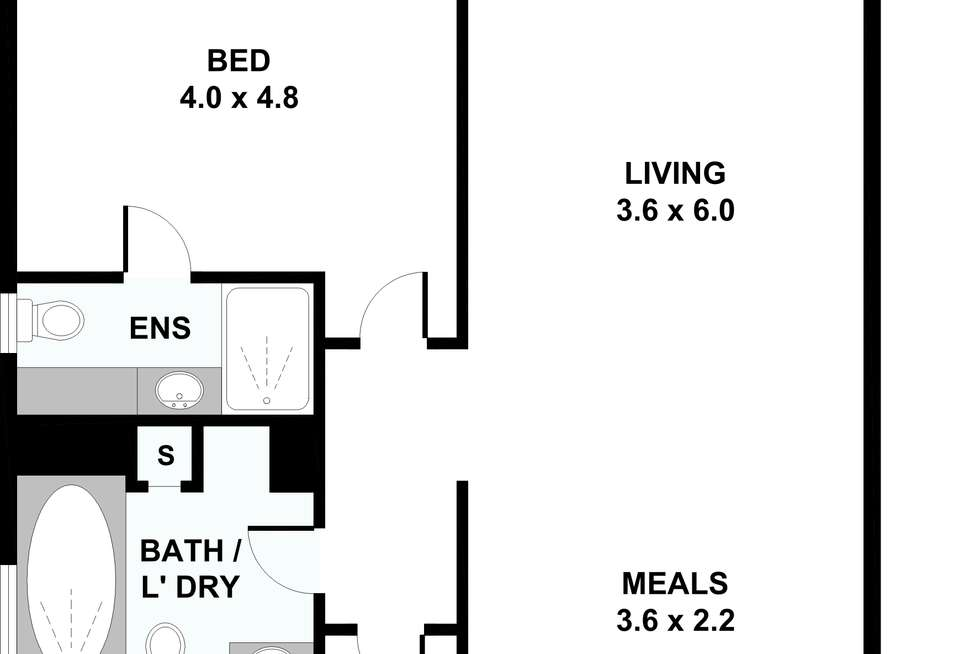 Floorplan of Homely apartment listing, 1003/333 Exhibition Street, Melbourne VIC 3000
