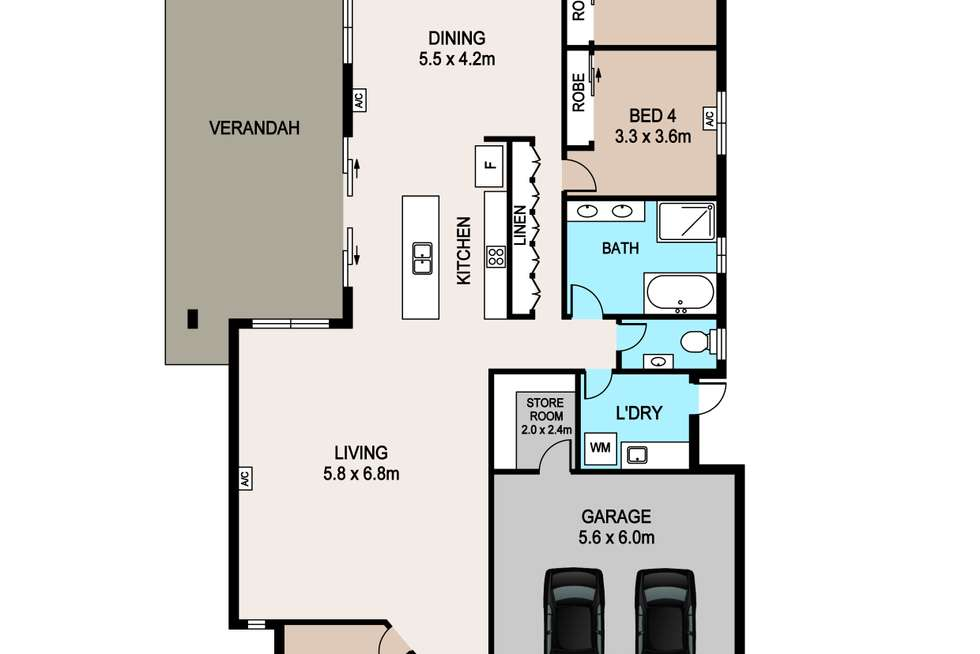 Floorplan of Homely house listing, 11 Bowditch Street, Muirhead NT 810