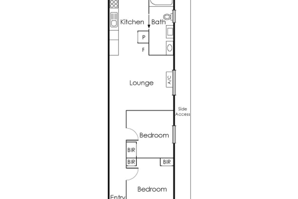 Floorplan of Homely house listing, 55 Bunting Street, Richmond VIC 3121