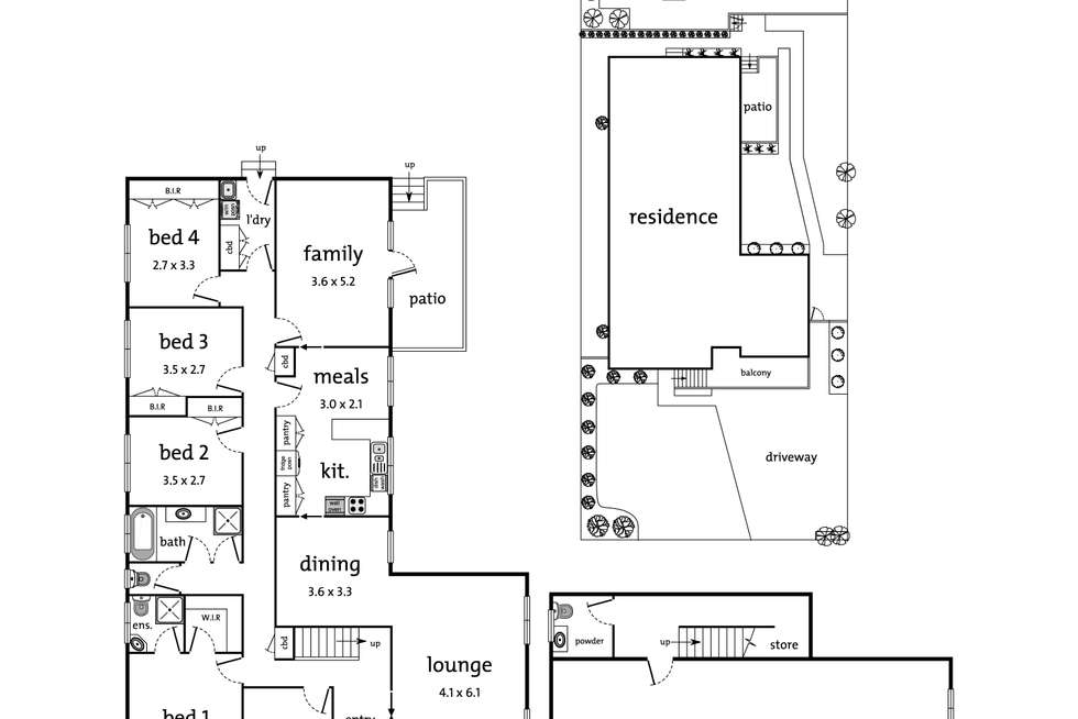 Floorplan of Homely house listing, 22 Central Avenue, Balwyn North VIC 3104