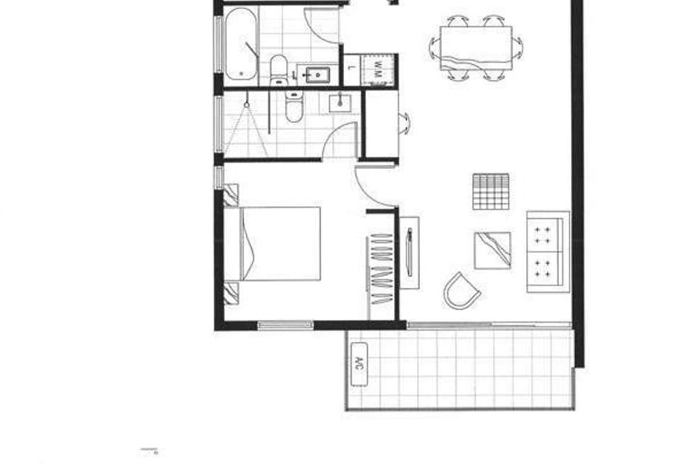 Floorplan of Homely apartment listing, 206/339 Burnley Street, Richmond VIC 3121