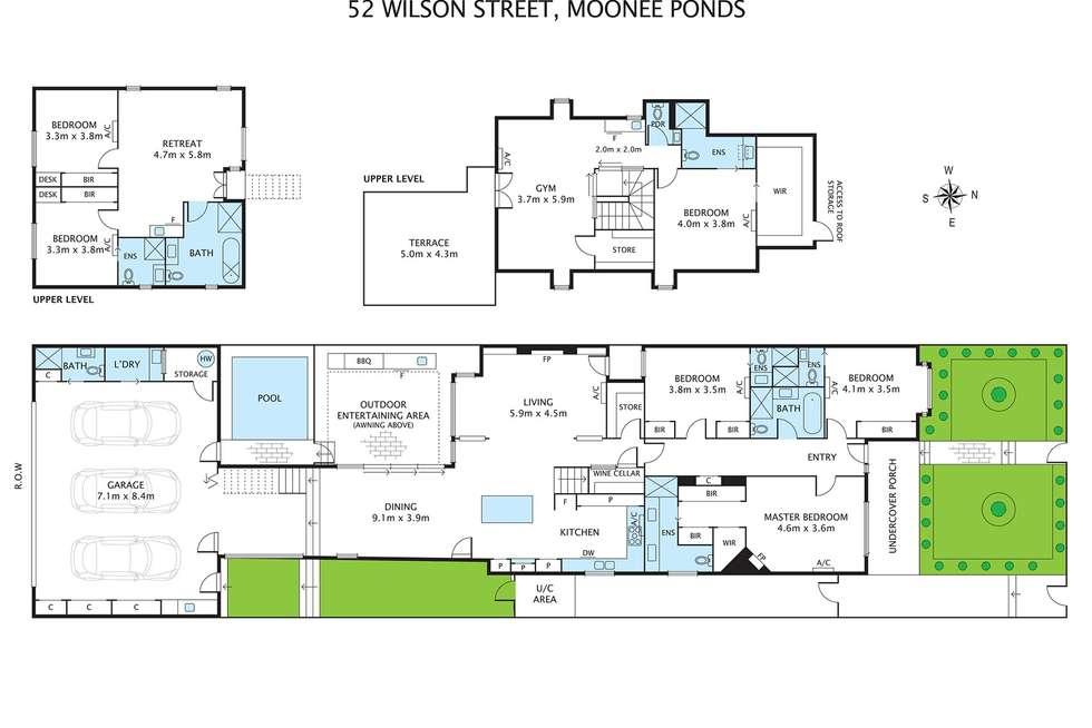 Floorplan of Homely house listing, 52 Wilson Street, Moonee Ponds VIC 3039