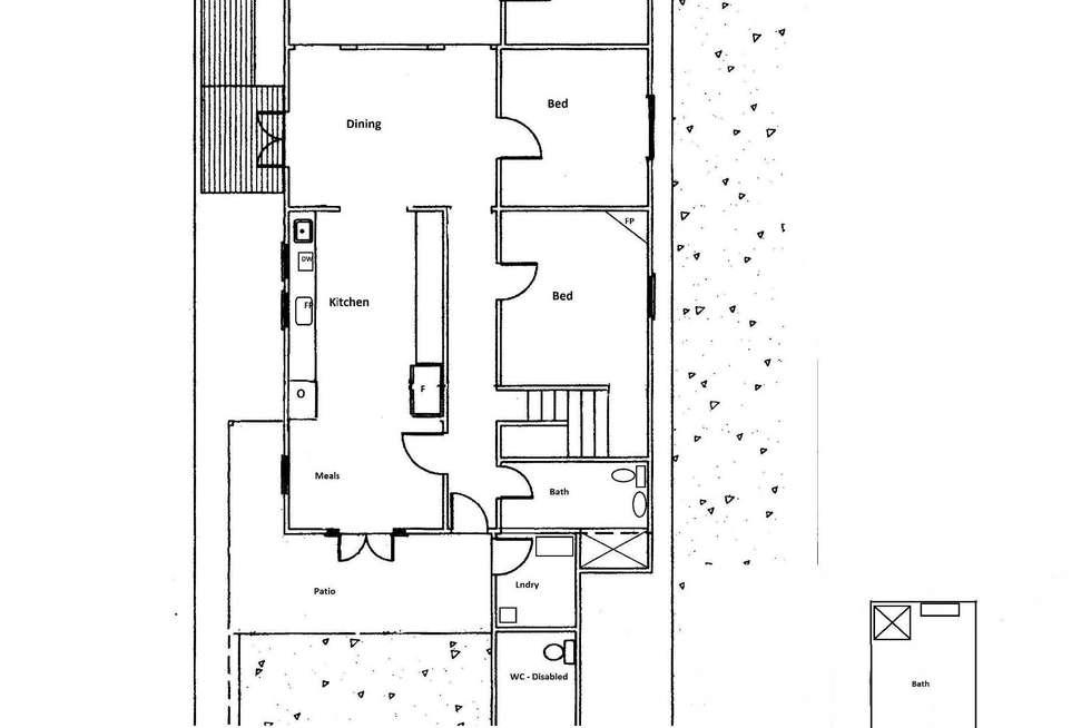 Floorplan of Homely house listing, 32 Staughton Street, Meredith VIC 3333