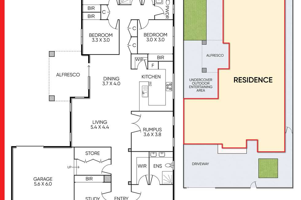 Floorplan of Homely house listing, 15 Kinglake Drive, Manor Lakes VIC 3024