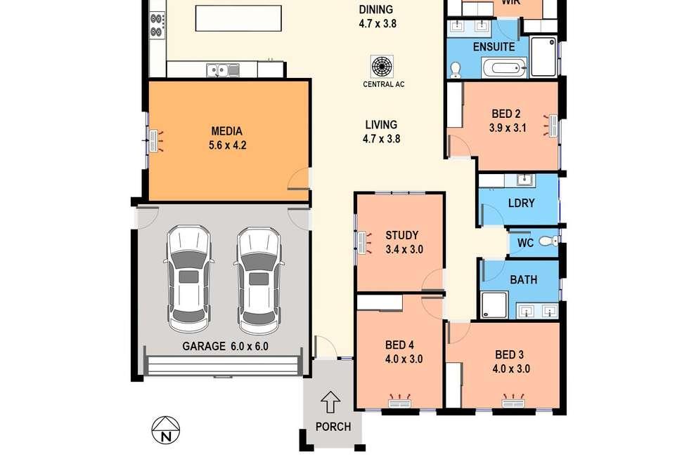 Floorplan of Homely house listing, 90 Lind Road, Johnston NT 832