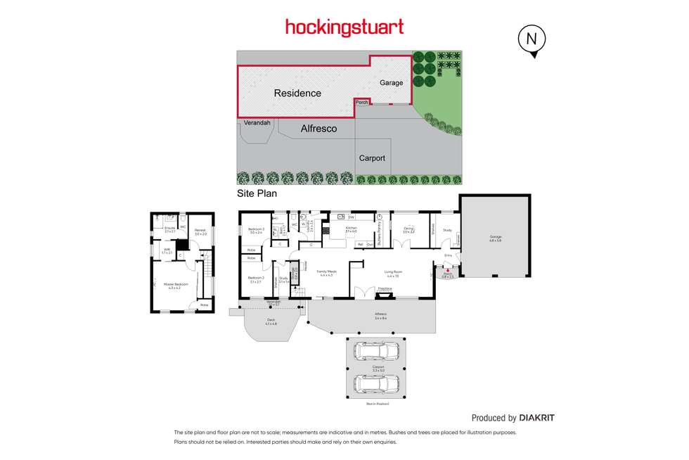 Floorplan of Homely house listing, 13 The Crest, Frankston South VIC 3199