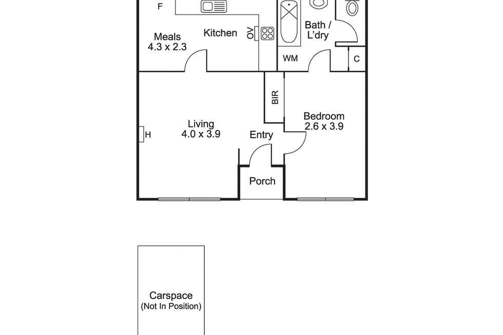 Floorplan of Homely apartment listing, 6/30 Railway Parade, Murrumbeena VIC 3163