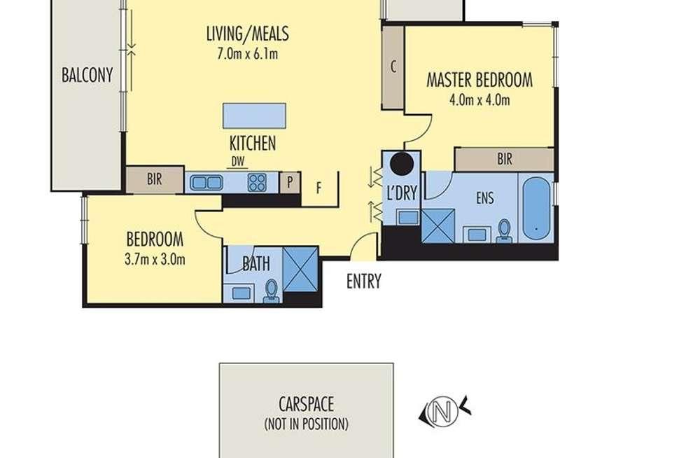 Floorplan of Homely apartment listing, 5/151 Beach Street, Port Melbourne VIC 3207
