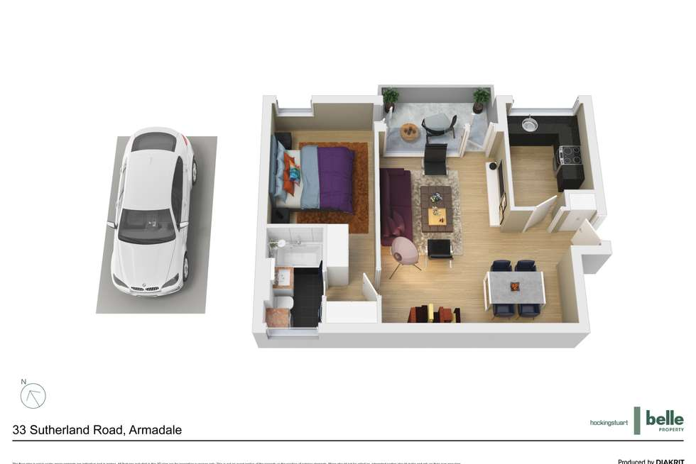 Floorplan of Homely apartment listing, 7/33 Sutherland Road, Armadale VIC 3143