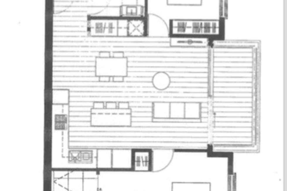 Floorplan of Homely apartment listing, 1.09/26 Warleigh Grove, Brighton VIC 3186
