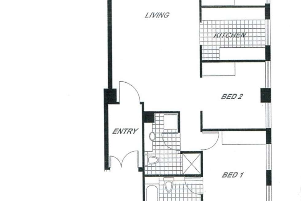 Floorplan of Homely apartment listing, 1003/442 St Kilda Road, Melbourne VIC 3004