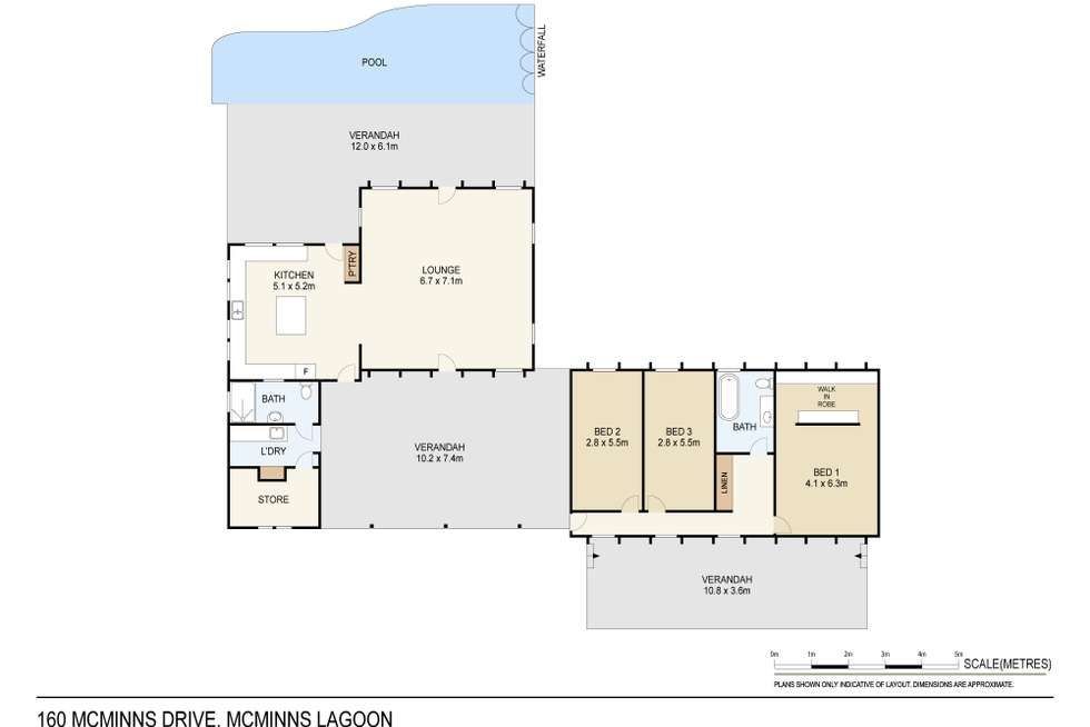 Floorplan of Homely house listing, 160 Mcminns Drive, Mcminns Lagoon NT 822