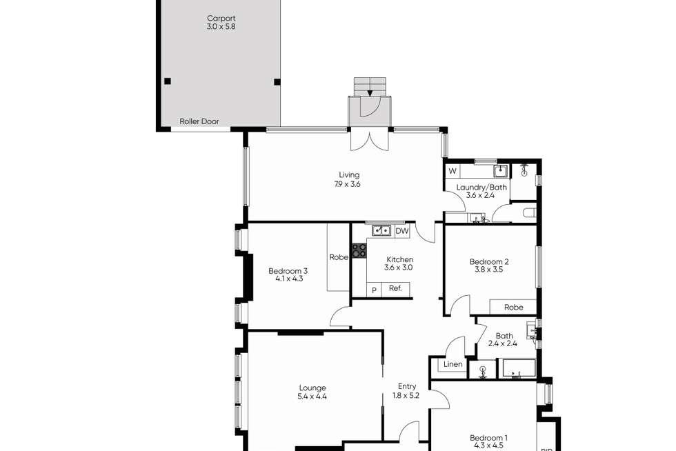 Floorplan of Homely house listing, 3 Hall Street, Brighton VIC 3186