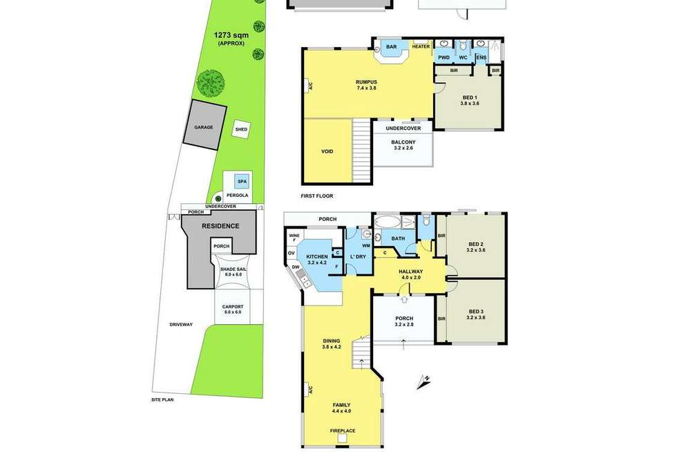 Floorplan of Homely house listing, 40 Rutherford Parade, Warneet VIC 3980