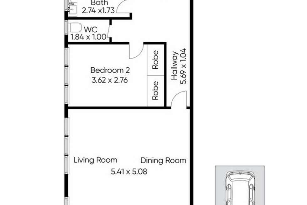 Floorplan of Homely apartment listing, 5/14 Briggs Street, Caulfield VIC 3162
