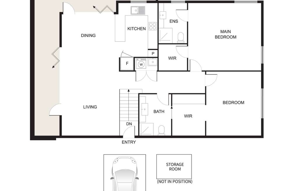 Floorplan of Homely apartment listing, 5/129 St Andrews Street, Brighton VIC 3186