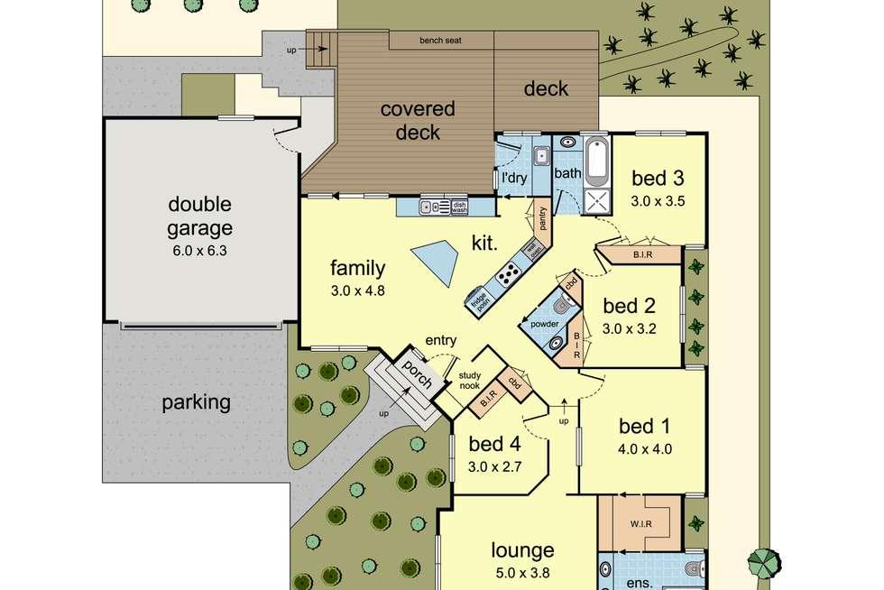 Floorplan of Homely unit listing, 3/90-94 Mt Dandenong Road, Croydon VIC 3136