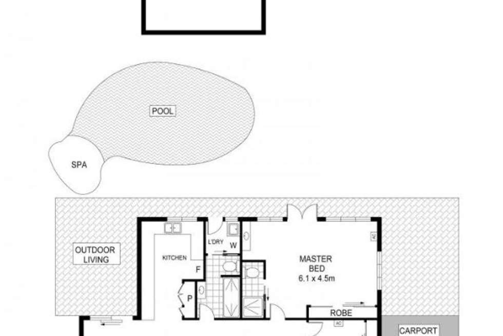 Floorplan of Homely house listing, 3 Verburg Court, Stuart Park NT 820