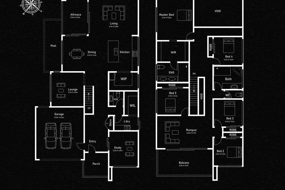 Floorplan of Homely house listing, 29 Mallard Circuit, Craigieburn VIC 3064