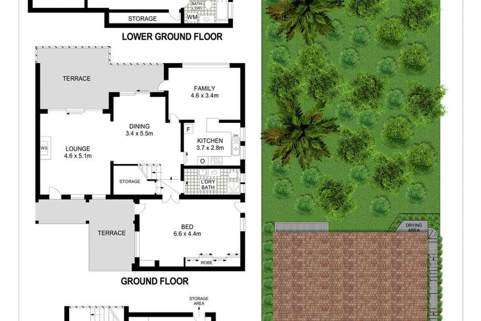 Floorplan of Homely house listing, 33 Beatrice Street, Clontarf NSW 2093