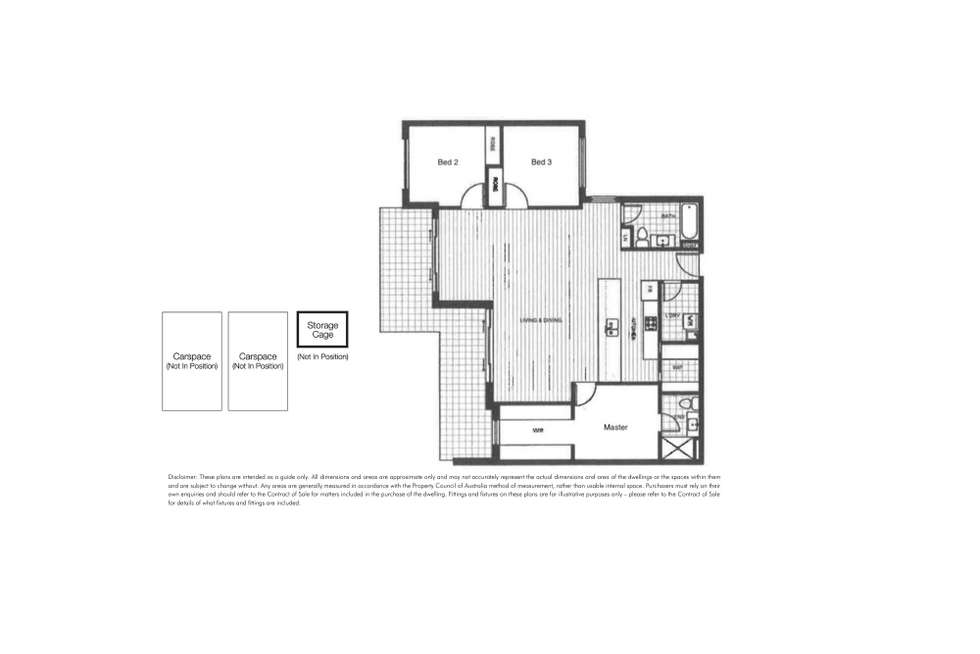 Floorplan of Homely apartment listing, 102/7 Cowra Street, Brighton VIC 3186