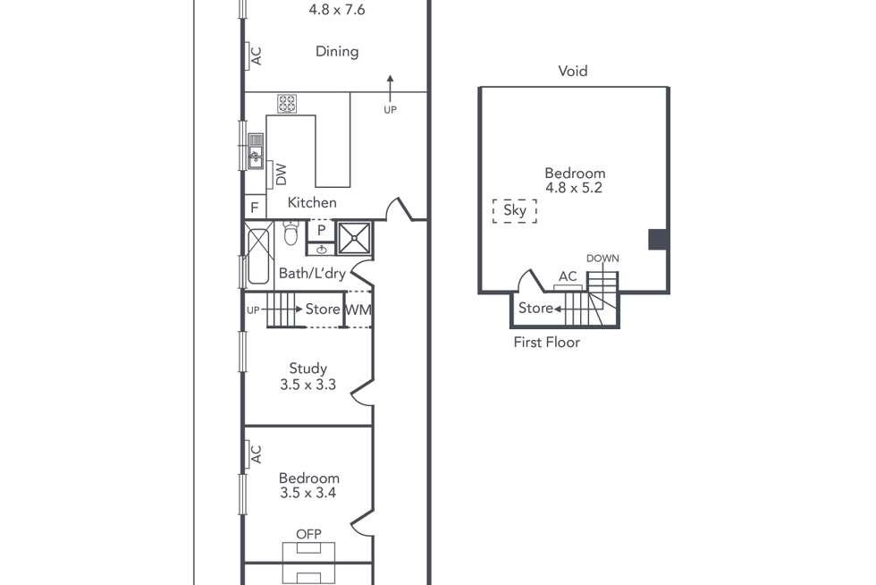 Floorplan of Homely house listing, 131 Somerset Street, Richmond VIC 3121