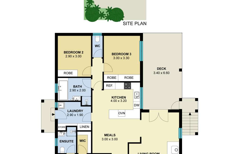 Floorplan of Homely house listing, 24 Leggatt Street, Daylesford VIC 3460