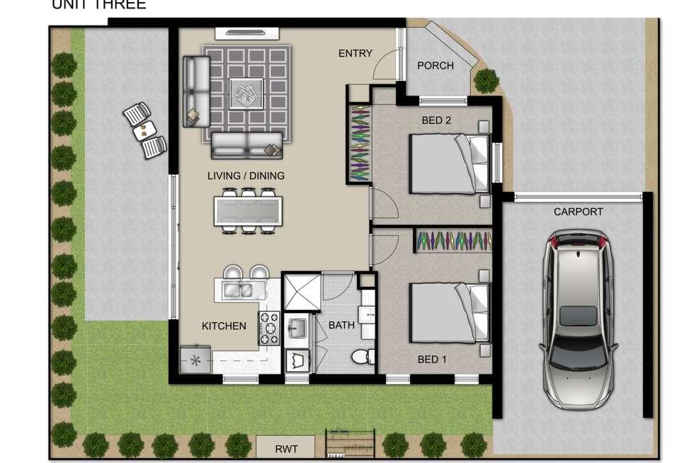 Floorplan of Homely unit listing, 3/29 Hilda Street, Glenroy VIC 3046