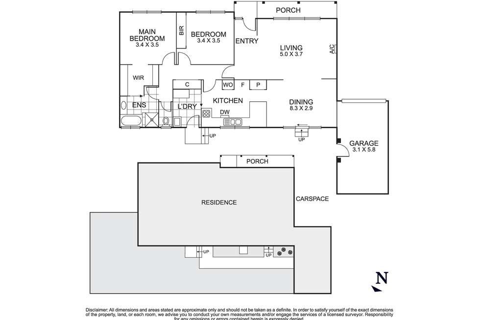 Floorplan of Homely unit listing, 2/13 Doncaster East Road, Mitcham VIC 3132