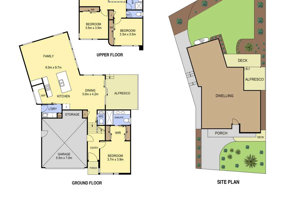 Floorplan of Homely house listing, 1a Carnon Street, Greensborough VIC 3088