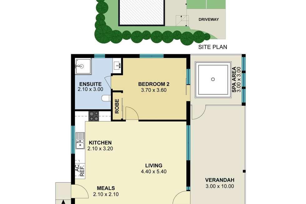 Floorplan of Homely house listing, 8 Sixth Street, Hepburn Springs VIC 3461