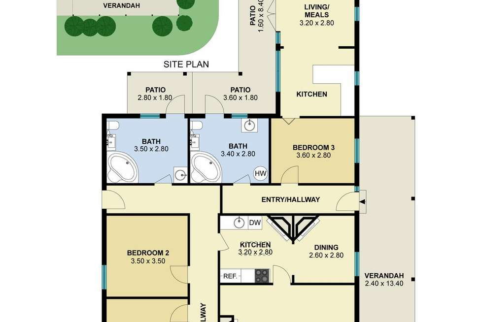 Floorplan of Homely house listing, 5/11 Stanbridge Street, Daylesford VIC 3460