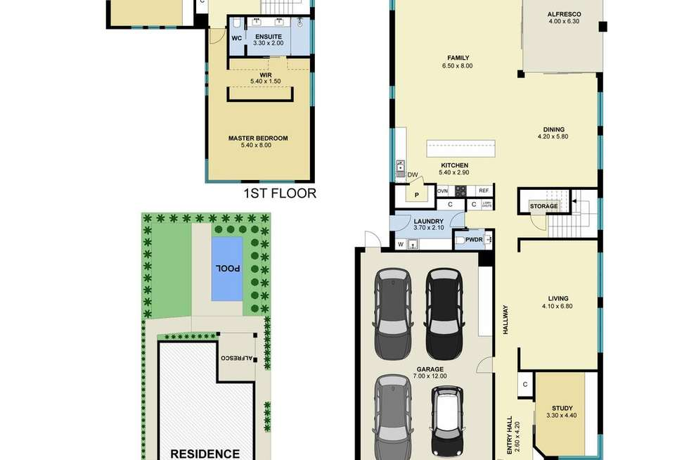 Floorplan of Homely house listing, 5 Connell Street, Mordialloc VIC 3195