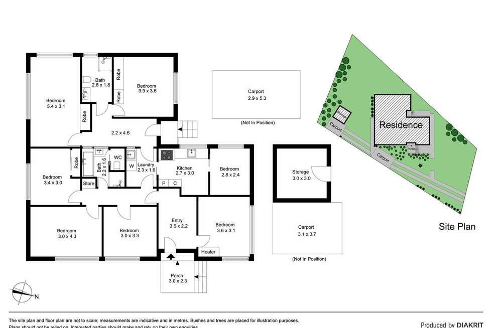 Floorplan of Homely house listing, 500 Waverley Road, Mount Waverley VIC 3149