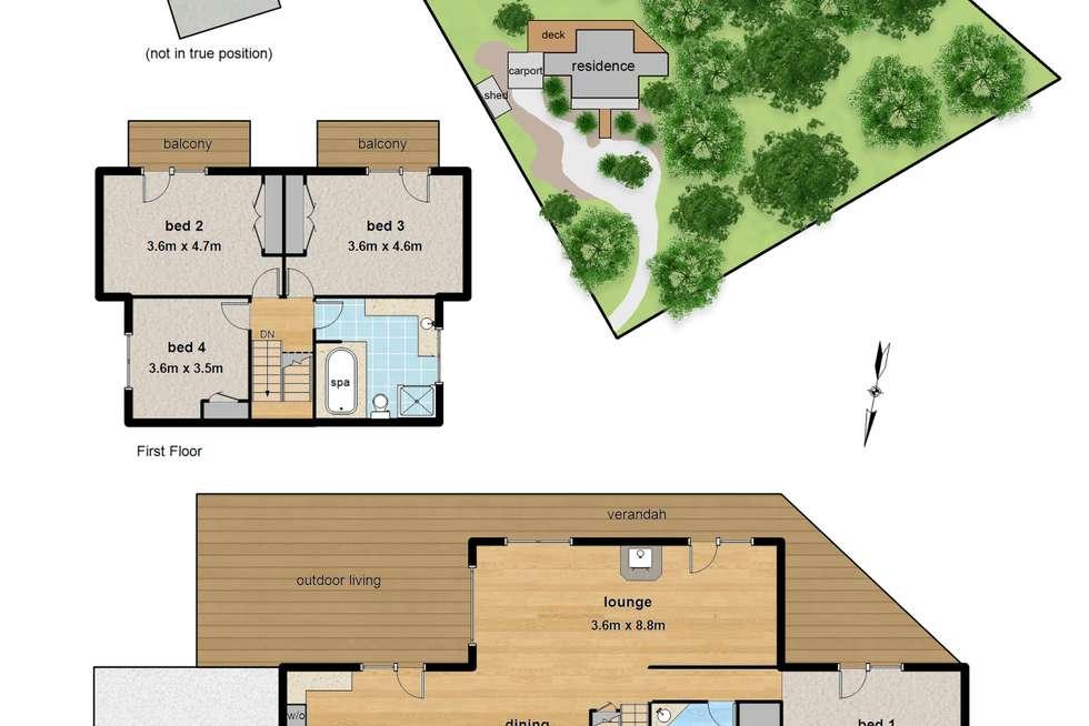 Floorplan of Homely house listing, 139 Belgrave Hallam Road, Belgrave South VIC 3160