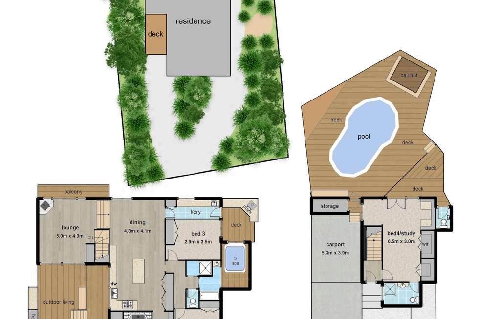 Floorplan of Homely house listing, 2 Roma Parade, Upwey VIC 3158