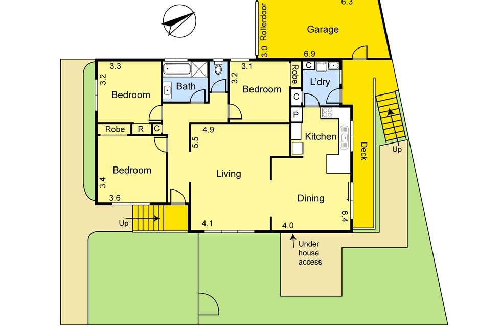 Floorplan of Homely unit listing, 8/18-20 Norris Crescent, Bundoora VIC 3083