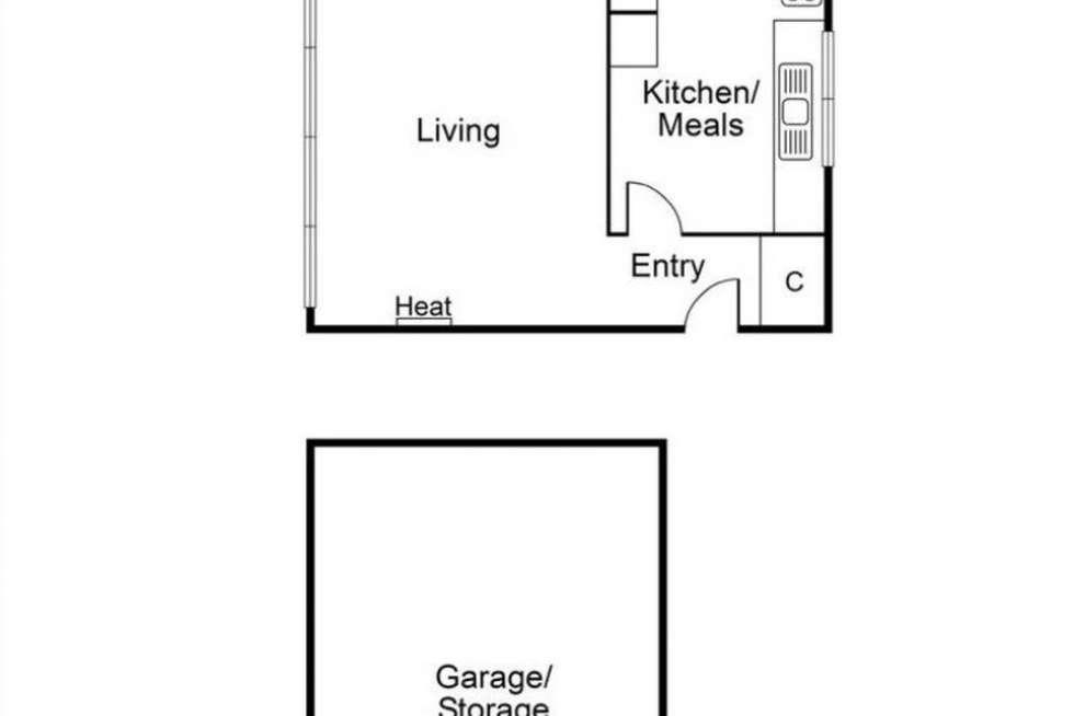 Floorplan of Homely apartment listing, 1/1 Hotham Grove, Ripponlea VIC 3185