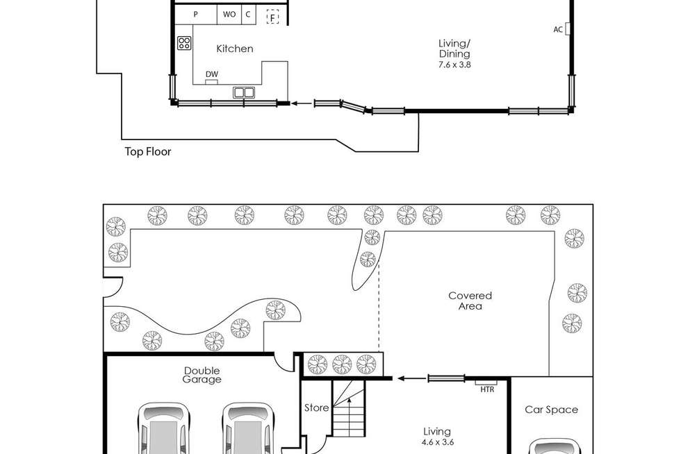Floorplan of Homely townhouse listing, 7/316 Nepean Highway, Edithvale VIC 3196