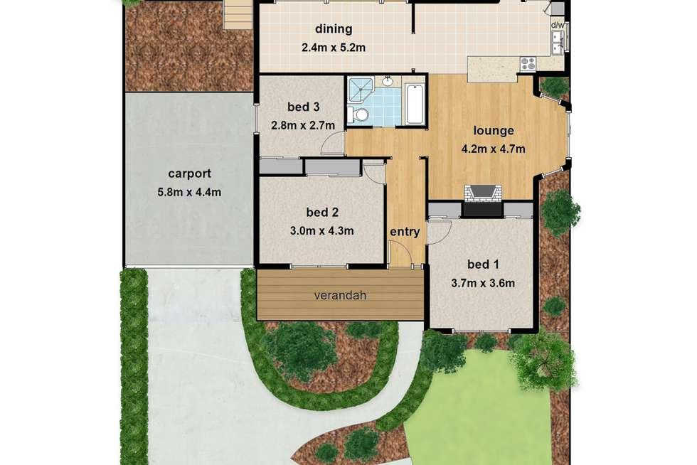 Floorplan of Homely house listing, 1/451 Dorset Road, Croydon VIC 3136