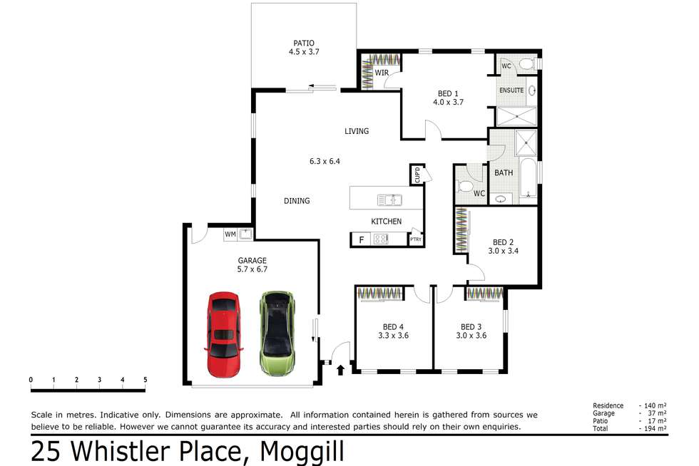 Floorplan of Homely house listing, 25 Whistler Place, Moggill QLD 4070