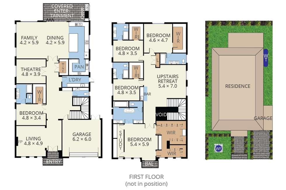 Floorplan of Homely house listing, 18 Glenda Street, Doncaster VIC 3108