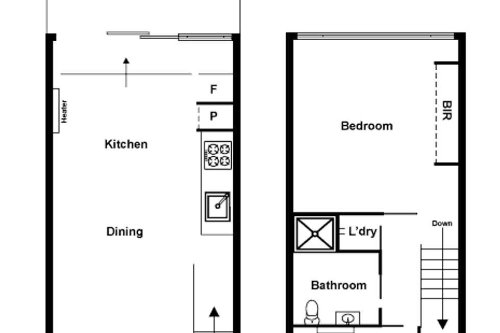 Floorplan of Homely apartment listing, 5/91 Wellington Street, St Kilda VIC 3182