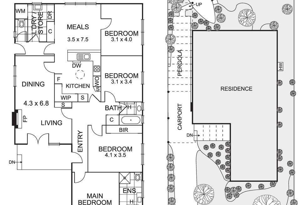 Floorplan of Homely house listing, 17 Bonnie Doone Street, Briar Hill VIC 3088
